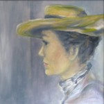 Ascot-lady