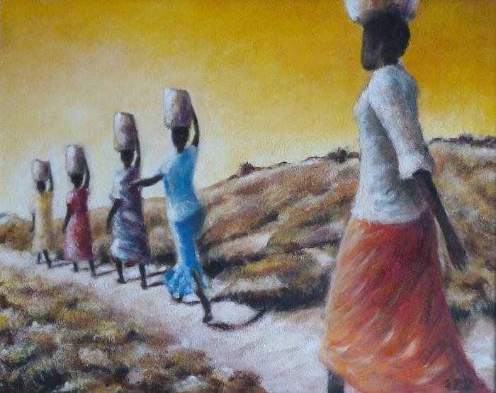 vrouwen in afrika